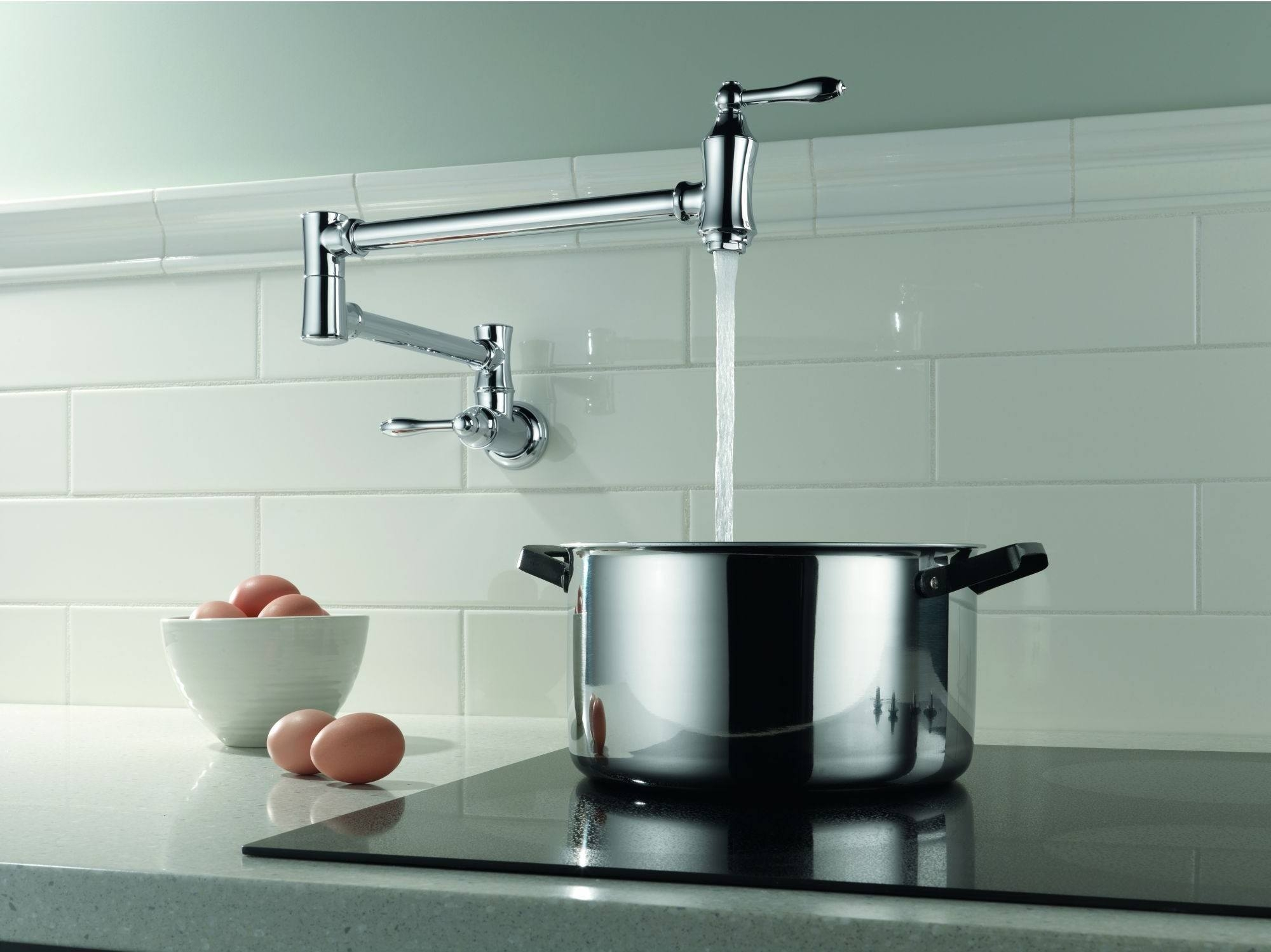 Ideas, delta 1177lf ss pot filler faucet wall mount review intended for dimensions 2000 x 1498  .