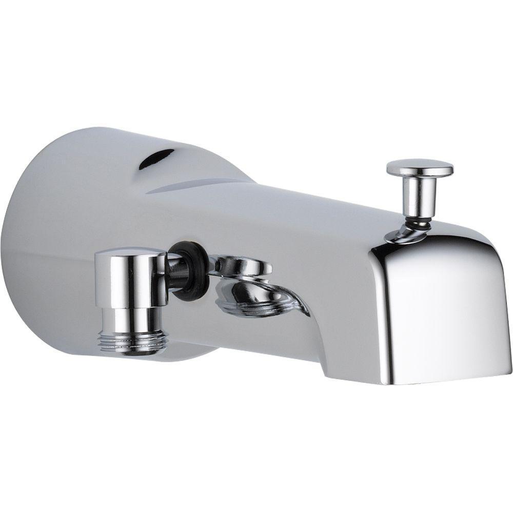 Ideas, delta 65 in long pull up diverter tub spout in chrome u1010 pk regarding measurements 1000 x 1000  .