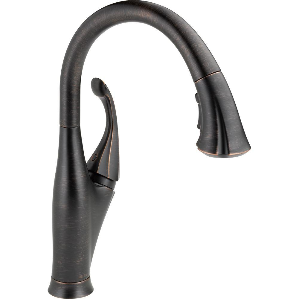Ideas, delta addison single handle pull down sprayer kitchen faucet with for sizing 1000 x 1000  .