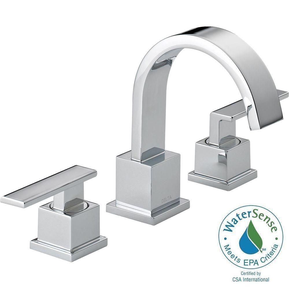 Ideas, delta bathroom faucet styles delta bathroom faucet styles delta vero 8 in widespread 2 handle bathroom faucet with metal 1000 x 1000  .