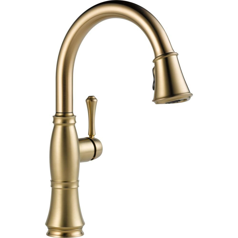 Ideas, delta brushed bronze kitchen faucets delta brushed bronze kitchen faucets delta cassidy single handle pull down sprayer kitchen faucet in 1000 x 1000  .