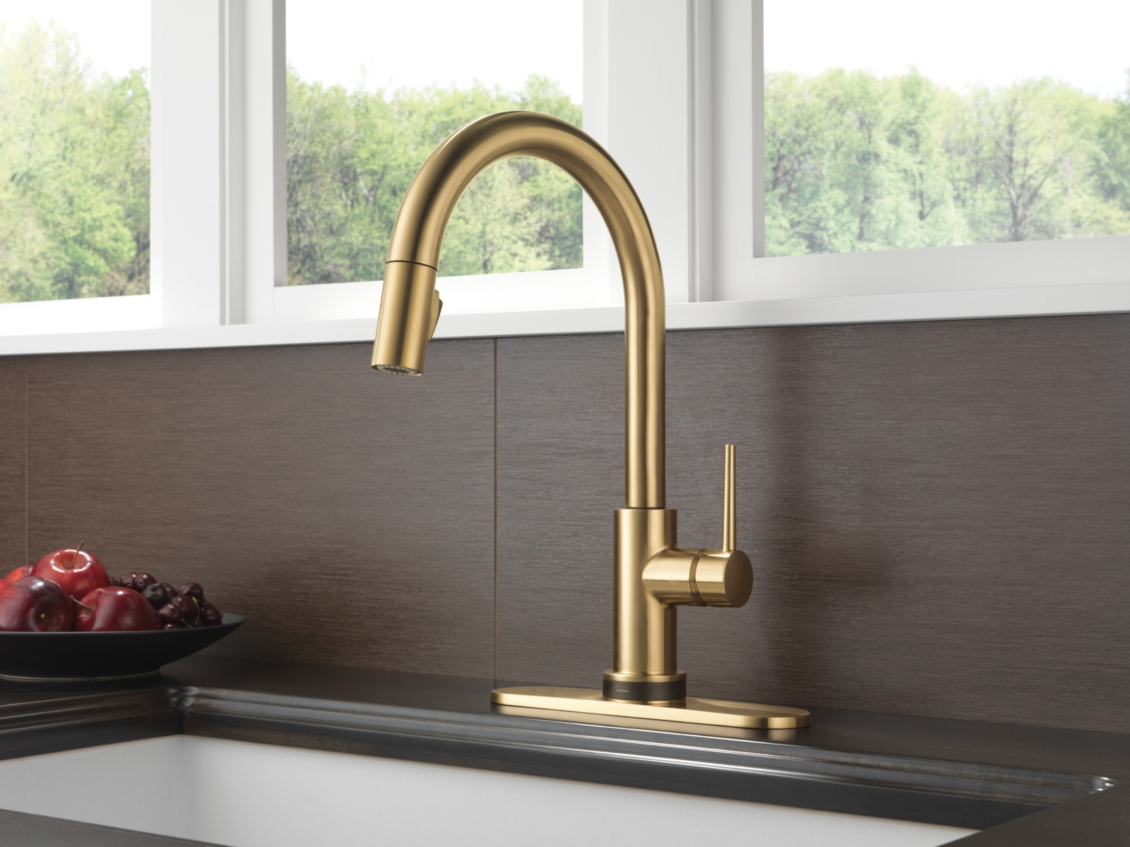 Ideas, delta brushed bronze kitchen faucets delta brushed bronze kitchen faucets trinsic kitchen collection kitchen faucets pot fillers and 1600 x 1200  .