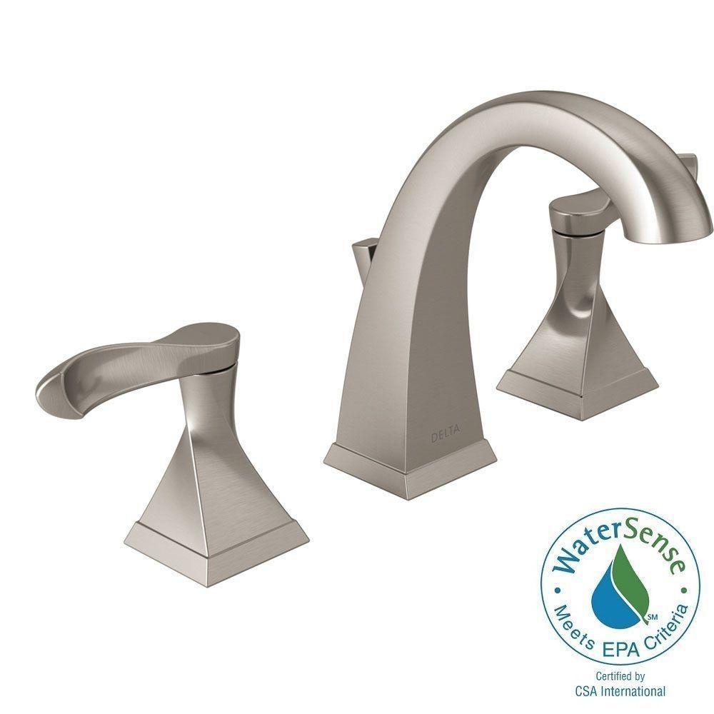 delta brushed nickel bathroom faucets delta brushed nickel bathroom faucets delta everly 8 in widespread 2 handle bathroom faucet in 1000 x 1000