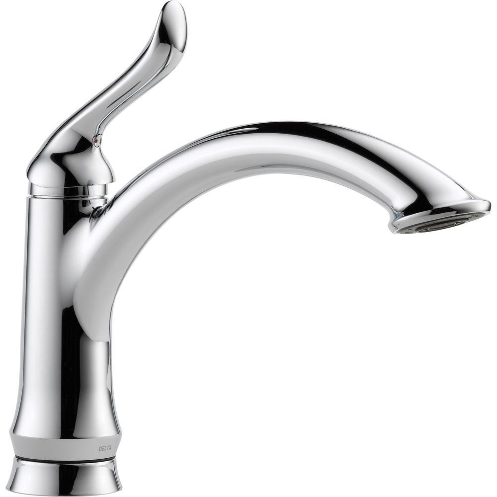Ideas, delta classic single handle standard kitchen faucet with side intended for sizing 1000 x 1000  .