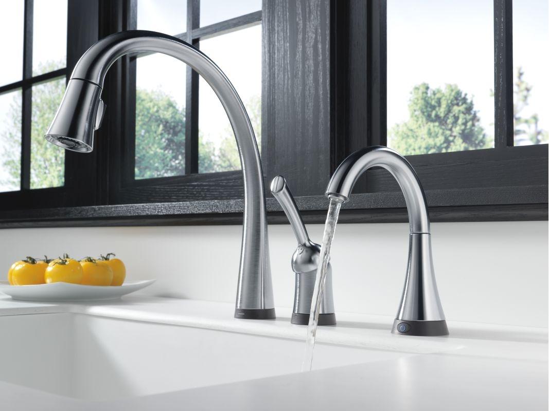 Ideas, delta drinking water faucet delta drinking water faucet faucet 1977t ss in brilliance stainless delta 1067 x 800  .