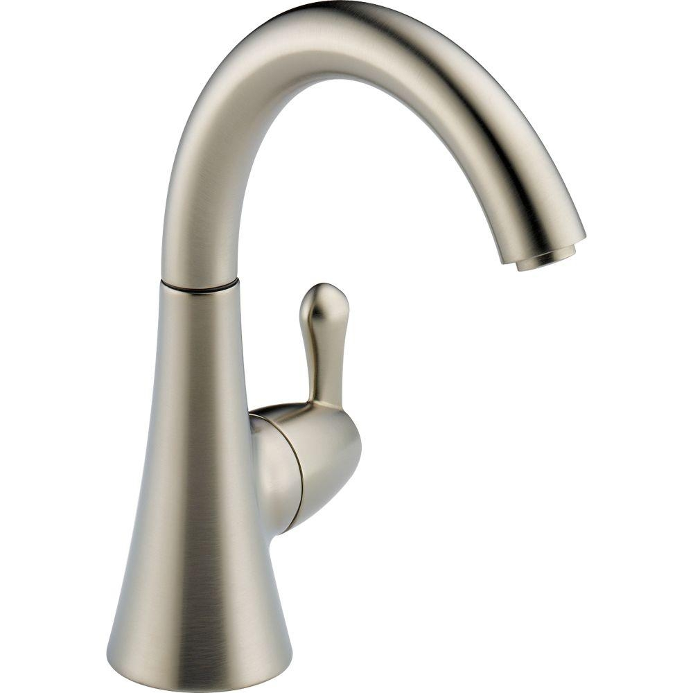 Ideas, delta drinking water faucet stainless delta drinking water faucet stainless delta transitional single handle water dispenser faucet in arctic 1000 x 1000  .