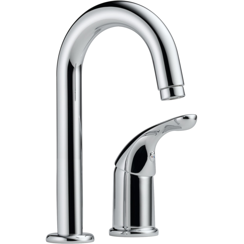delta faucet 1903 dst classic polished chrome one handle bar with sizing 1000 x 1000