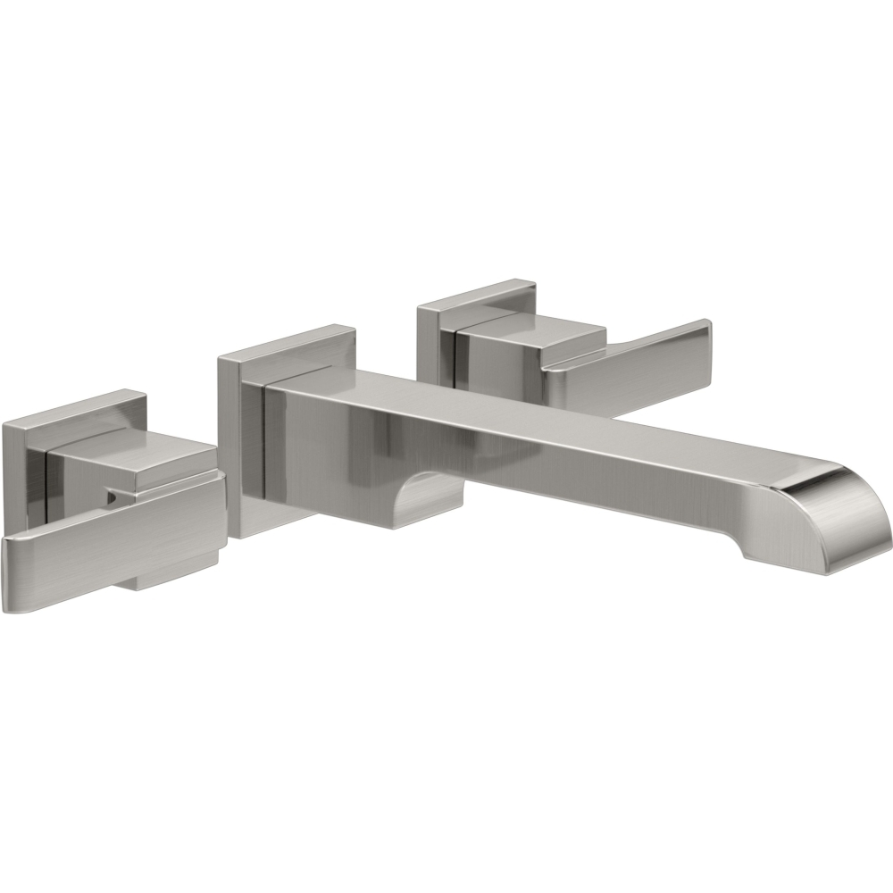 Ideas, delta faucet t3567lf sswl ara brilliance stainless wall mount within sizing 1000 x 1000  .