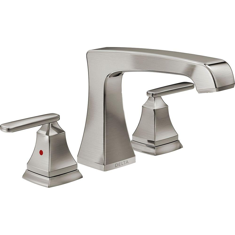 Ideas, delta faucets for jacuzzi tubs delta faucets for jacuzzi tubs delta lahara 2 handle deck mount roman tub faucet trim kit only in 1000 x 1000  .