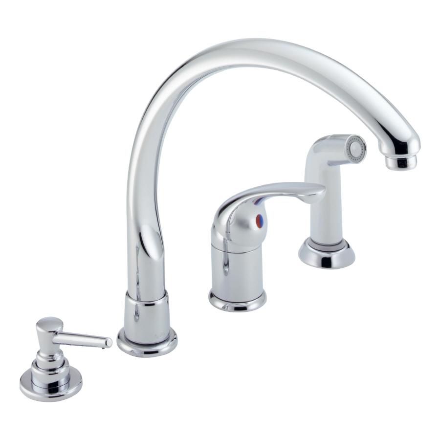 Ideas, delta high rise kitchen faucet delta high rise kitchen faucet vigo chrome pulldown spray kitchen faucet with deck plate kitchen 900 x 900  .