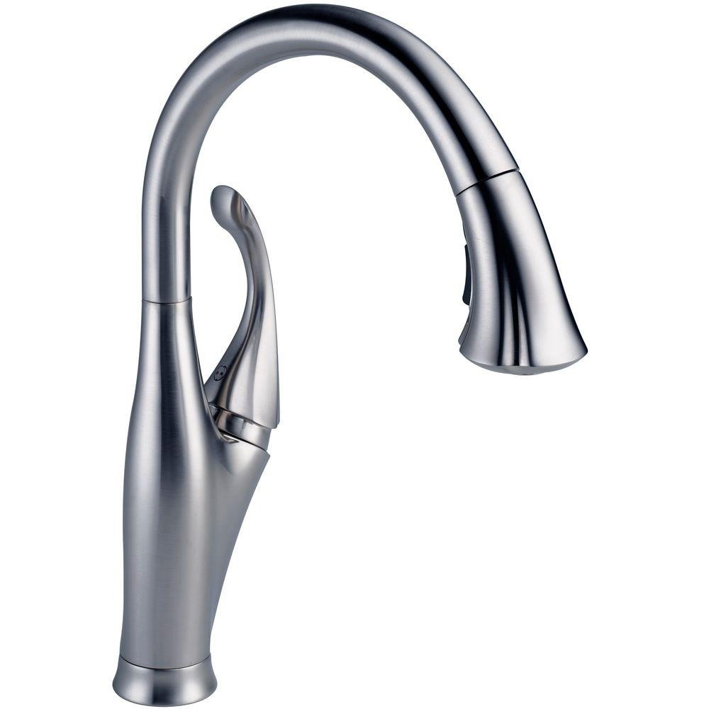 delta kitchen faucet 9192 ar dst delta kitchen faucet 9192 ar dst delta addison single handle pull down sprayer kitchen faucet with 1000 x 1000
