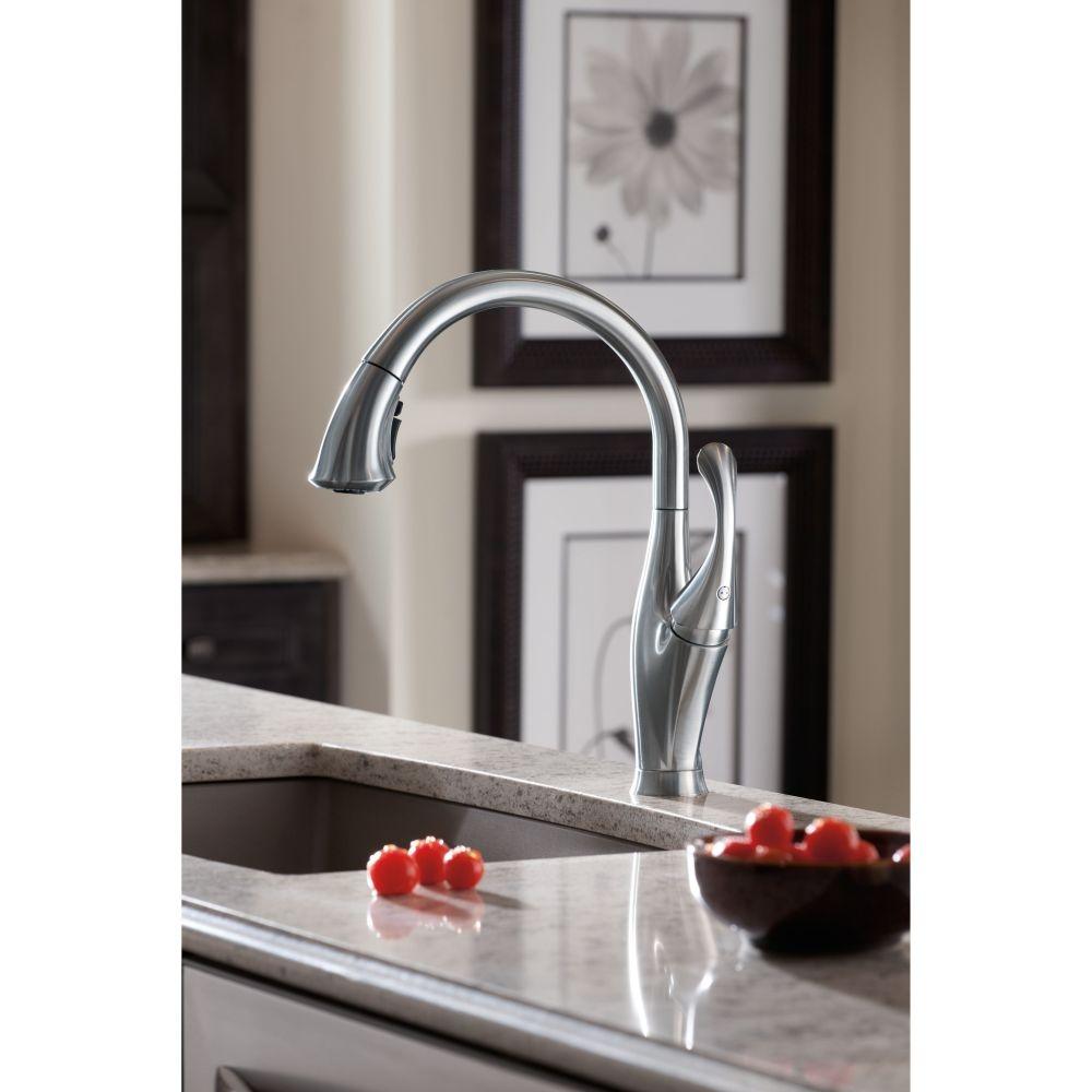 Ideas, delta kitchen faucet 9192 ar dst delta kitchen faucet 9192 ar dst delta faucet 9192 dst addison polished chrome pullout spray 1000 x 1000  .