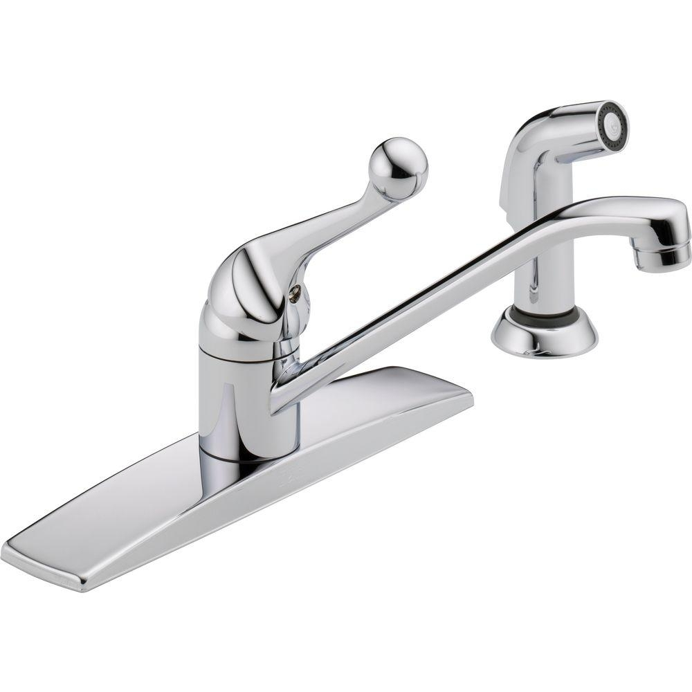 Ideas, delta kitchen faucet o rings delta kitchen faucet o rings delta classic single handle standard kitchen faucet with side 1000 x 1000  .