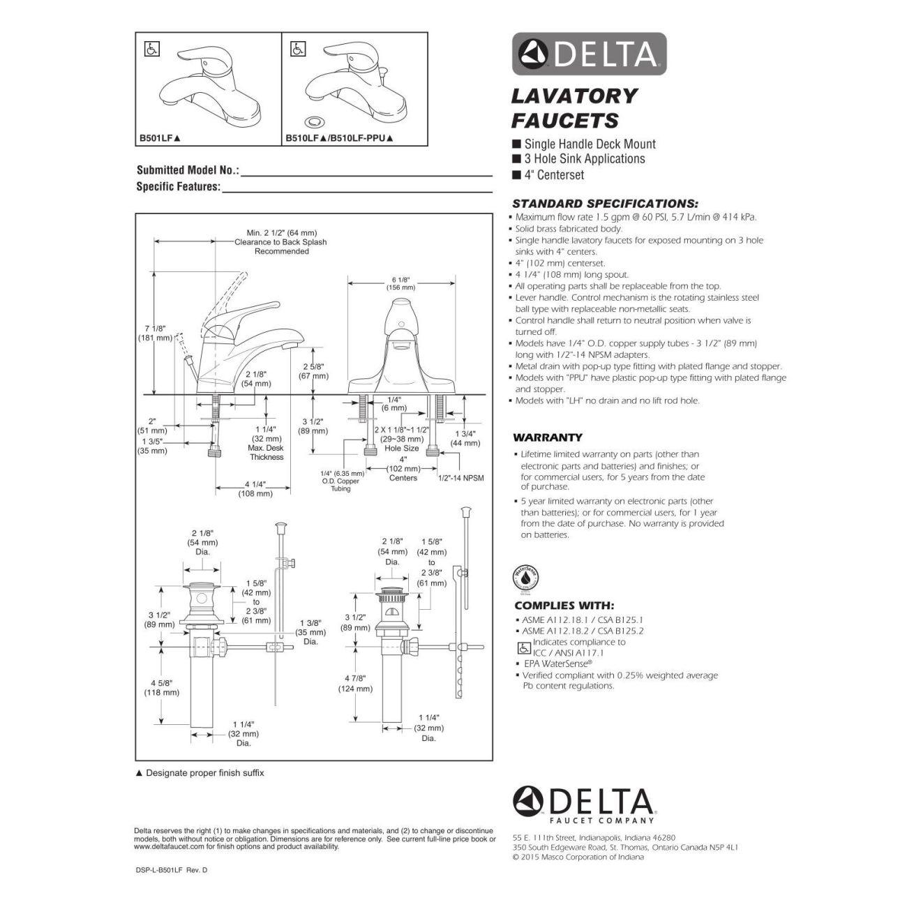 Ideas, delta lavatory faucet b501lf delta lavatory faucet b501lf delta faucet b501lf foundations polished chrome one handle 1300 x 1300  .