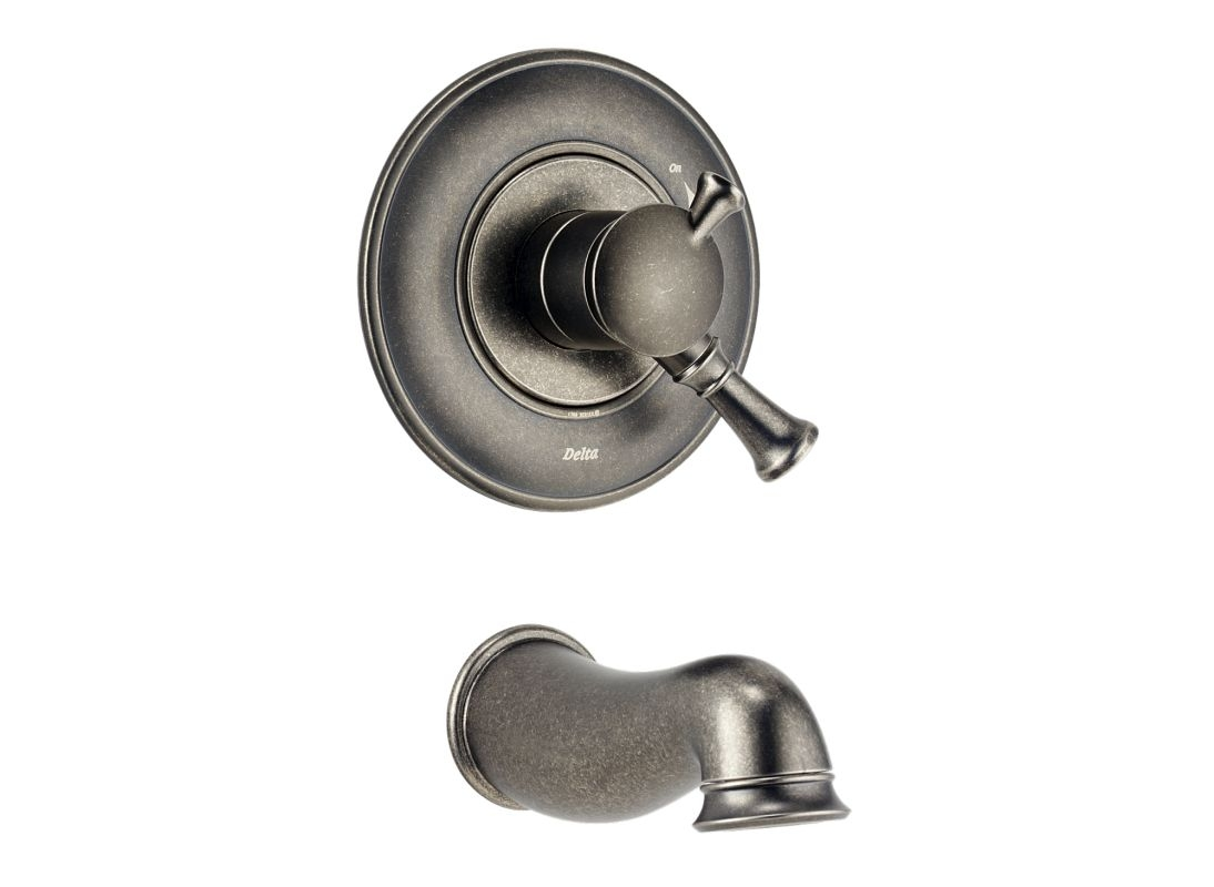 Ideas, delta lockwood tub and shower faucet delta lockwood tub and shower faucet faucet t17140 pt in aged pewter delta 1094 x 800  .