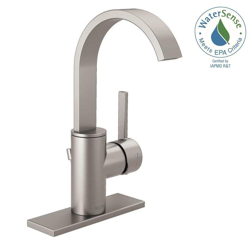 Ideas, delta mandolin 4 in centerset single handle bathroom faucet in throughout size 1000 x 1000  .