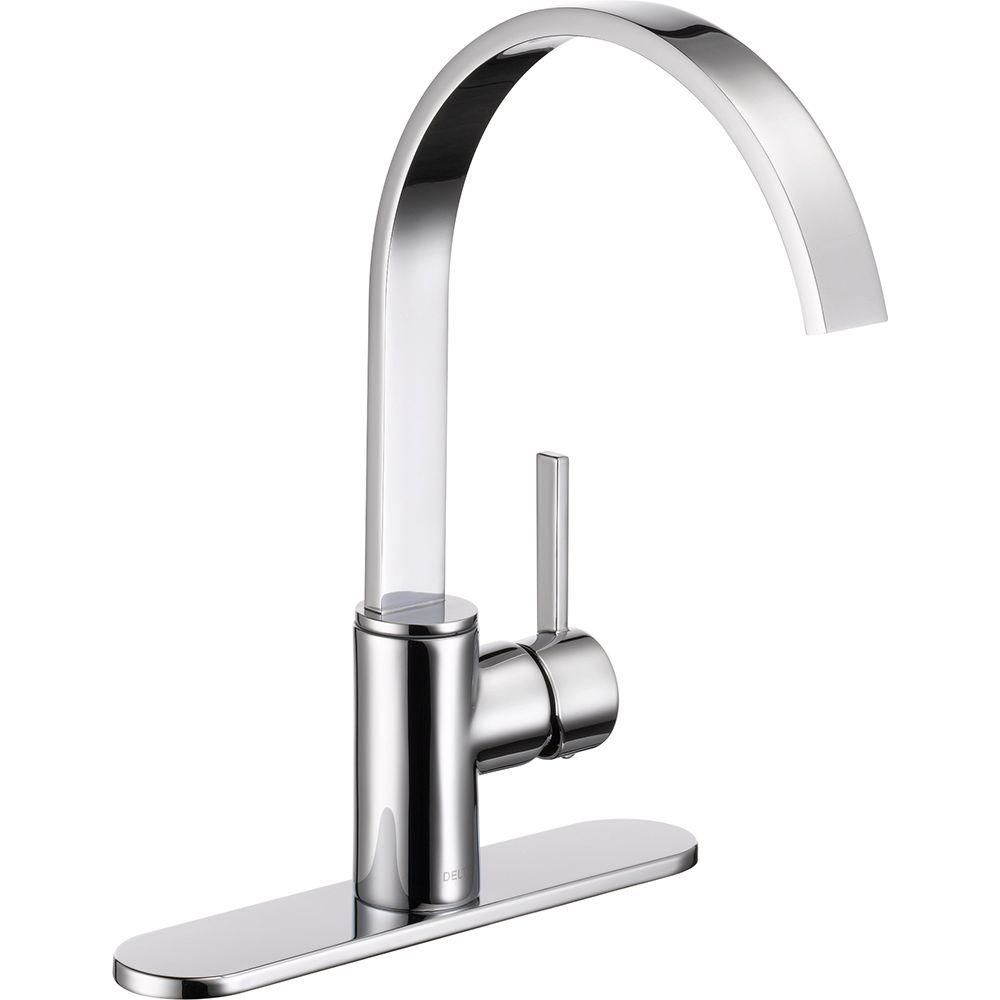 Ideas, delta mandolin single handle standard kitchen faucet in chrome pertaining to dimensions 1000 x 1000  .