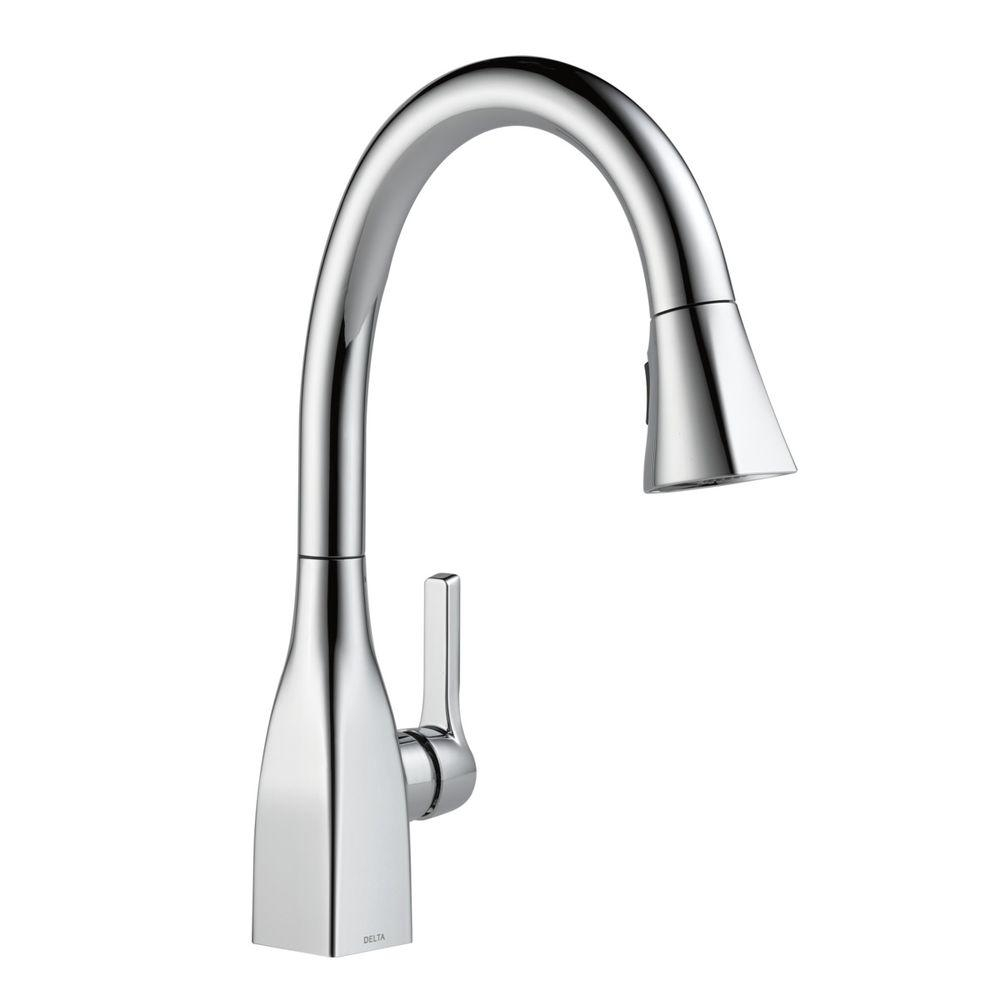 Ideas, delta mateo single handle pull down sprayer kitchen faucet in within measurements 1000 x 1000  .