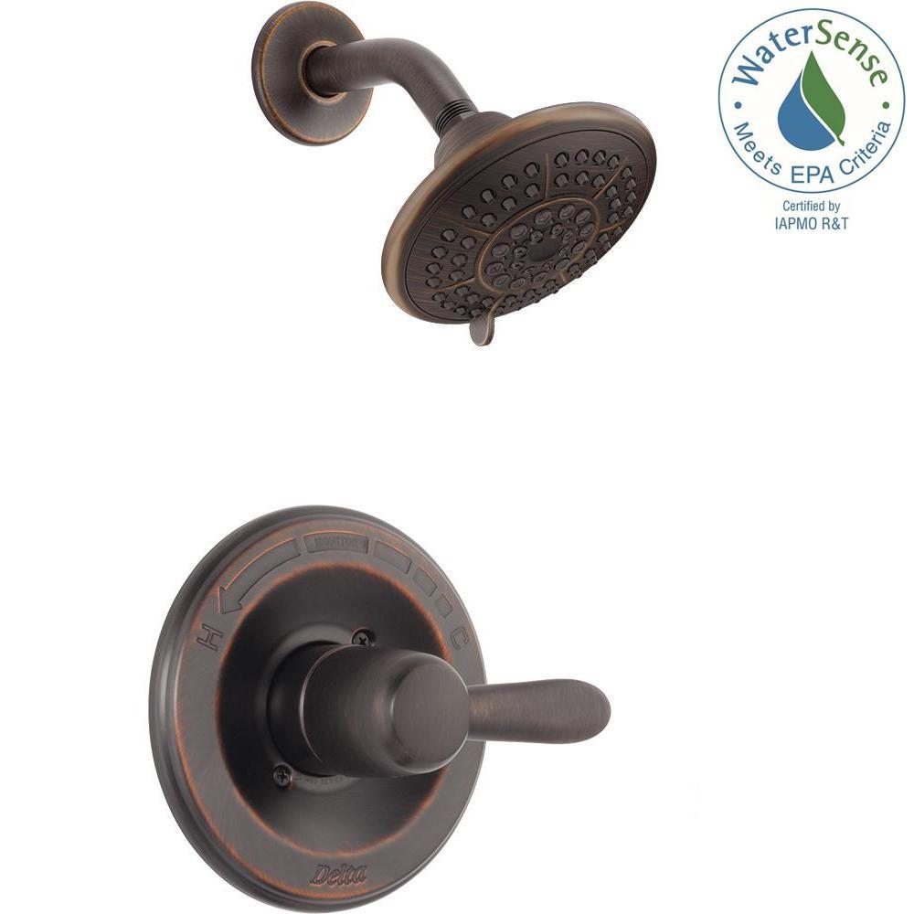 Ideas, delta nura venetian bronze bathroom faucet delta nura venetian bronze bathroom faucet delta lahara 1 handle 1 spray shower faucet trim kit in venetian 1000 x 1000  .