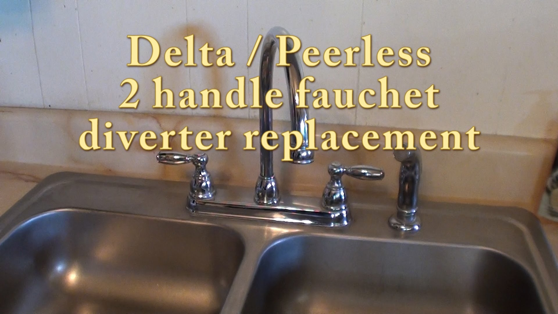 Ideas, delta peerless 2 handle faucet diverter replacement rp41702 with regard to sizing 1920 x 1080  .