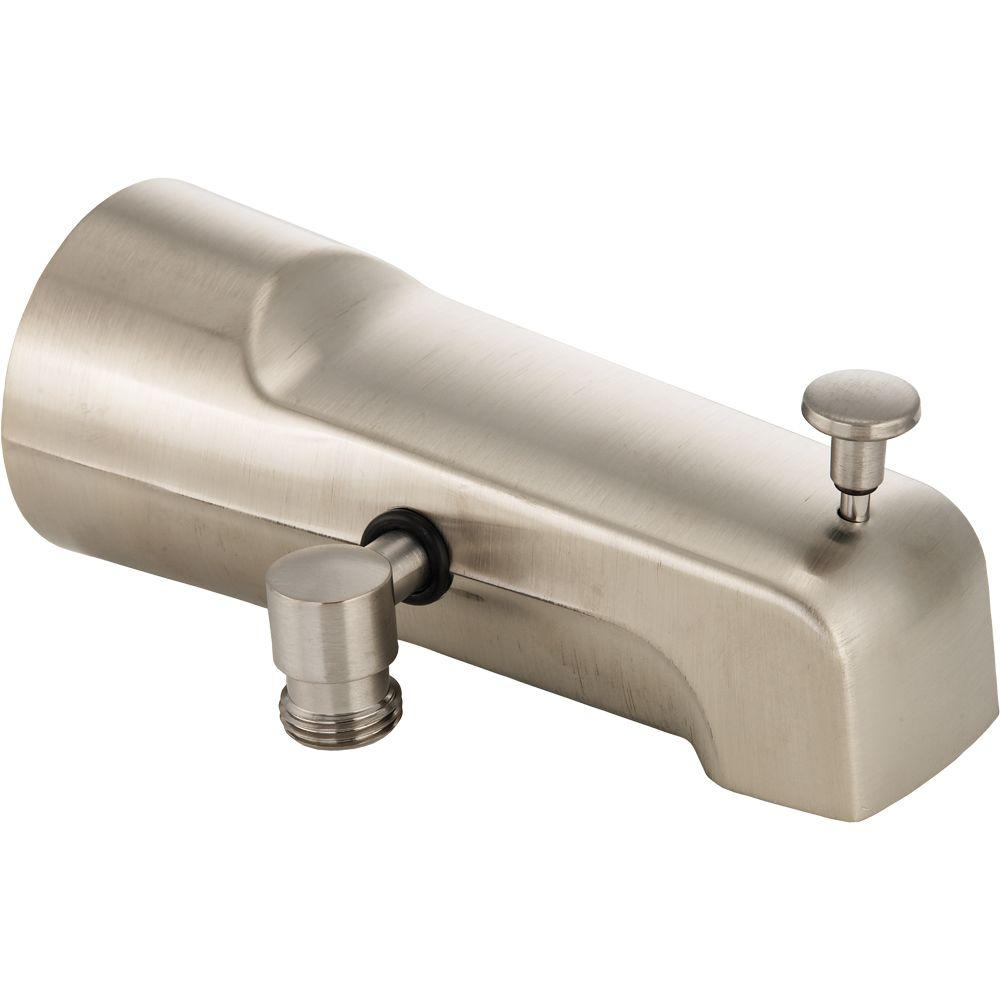 Tub Faucet With Handheld Shower Diverter