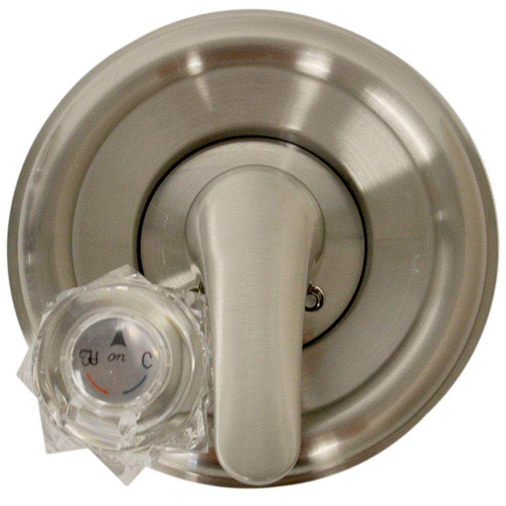 Ideas, delta satin nickel shower faucet delta satin nickel shower faucet danco single handle valve trim kit for delta tubshower in brushed 1000 x 1000  .