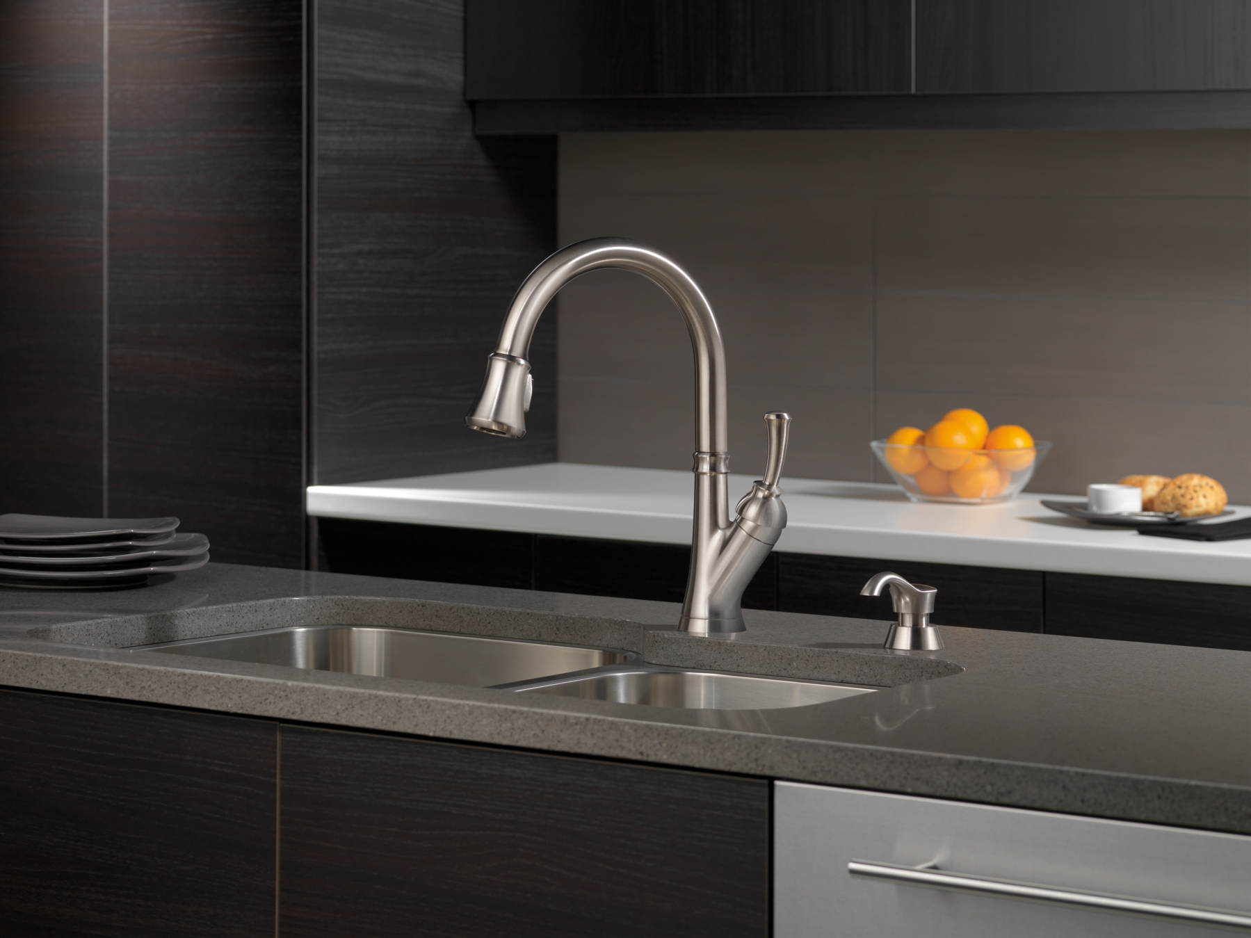Ideas, delta savile stainless kitchen faucet delta savile stainless kitchen faucet savile kitchen collection 1799 x 1349  .