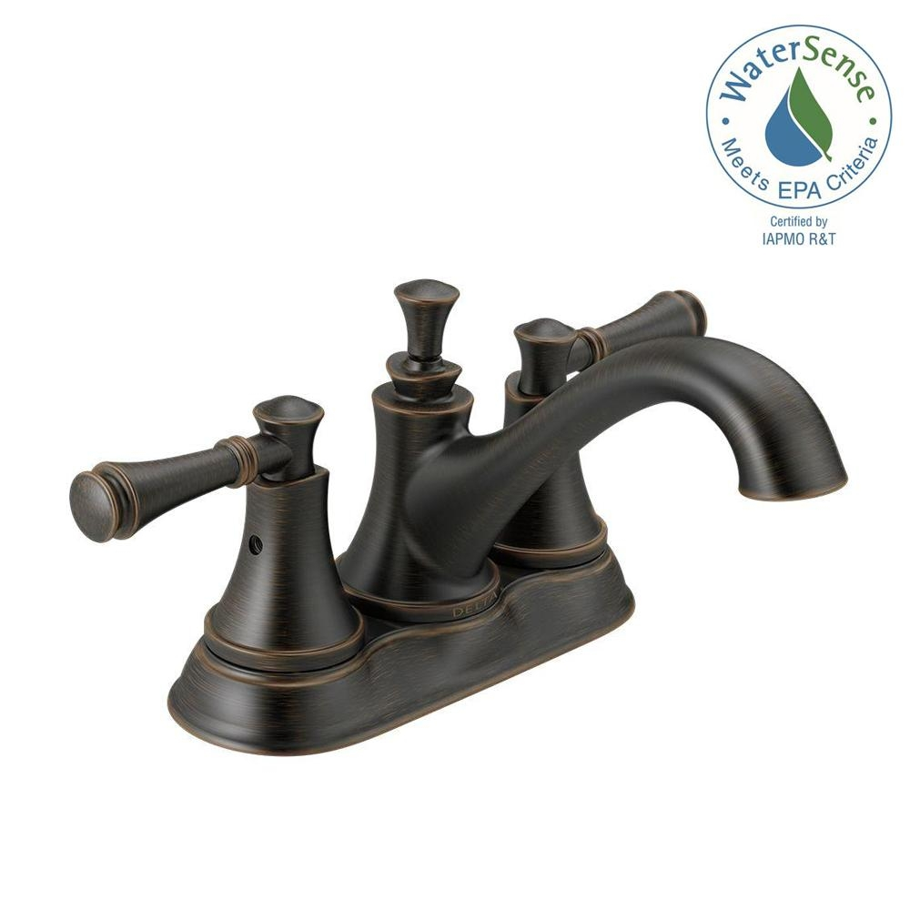 Ideas, delta silverton 4 in centerset 2 handle bathroom faucet in pertaining to size 1000 x 1000  .