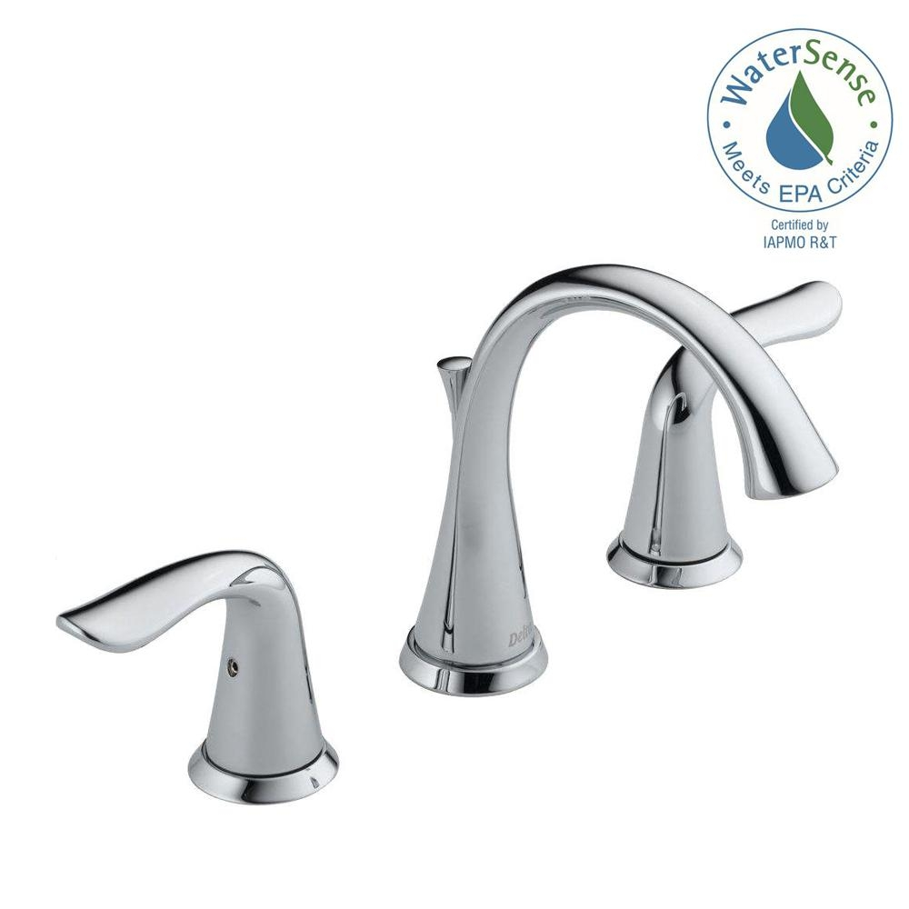 Ideas, delta silverton 8 in widespread 2 handle bathroom faucet in pertaining to sizing 1000 x 1000  .