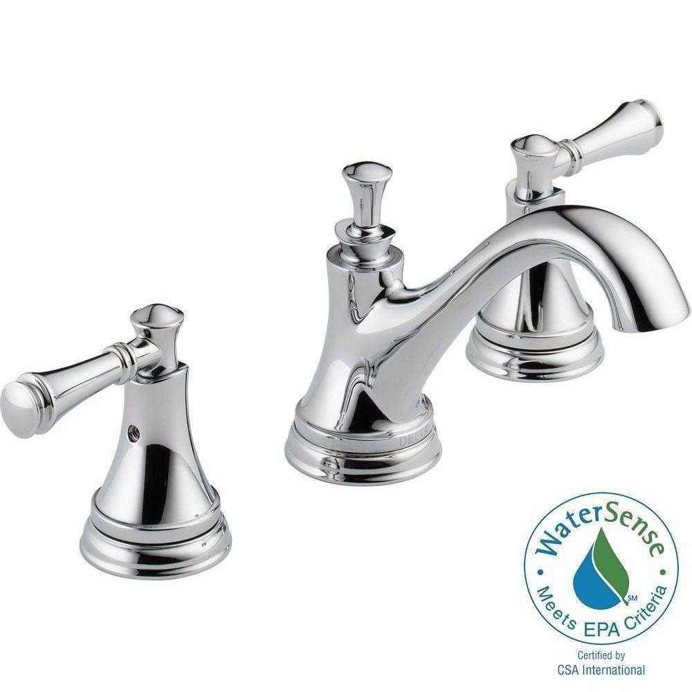 Ideas, delta silverton 8 in widespread 2 handle bathroom faucet in throughout size 1000 x 1000  .