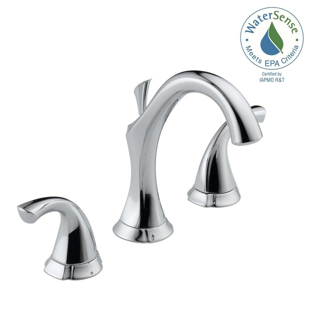 Ideas, delta silverton faucet brushed nickel delta silverton faucet brushed nickel delta silverton 8 in widespread 2 handle bathroom faucet in 1000 x 1000 2  .