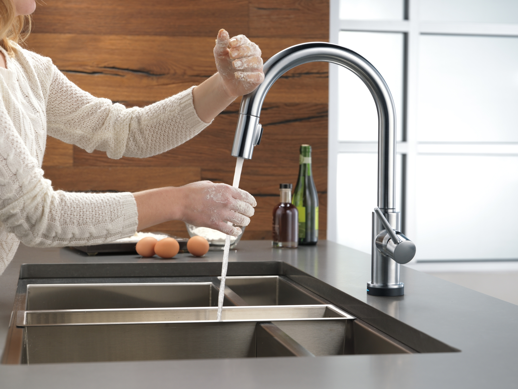 Ideas, delta touch sink faucet delta touch sink faucet trinsic kitchen collection kitchen faucets pot fillers and 1804 x 1353  .
