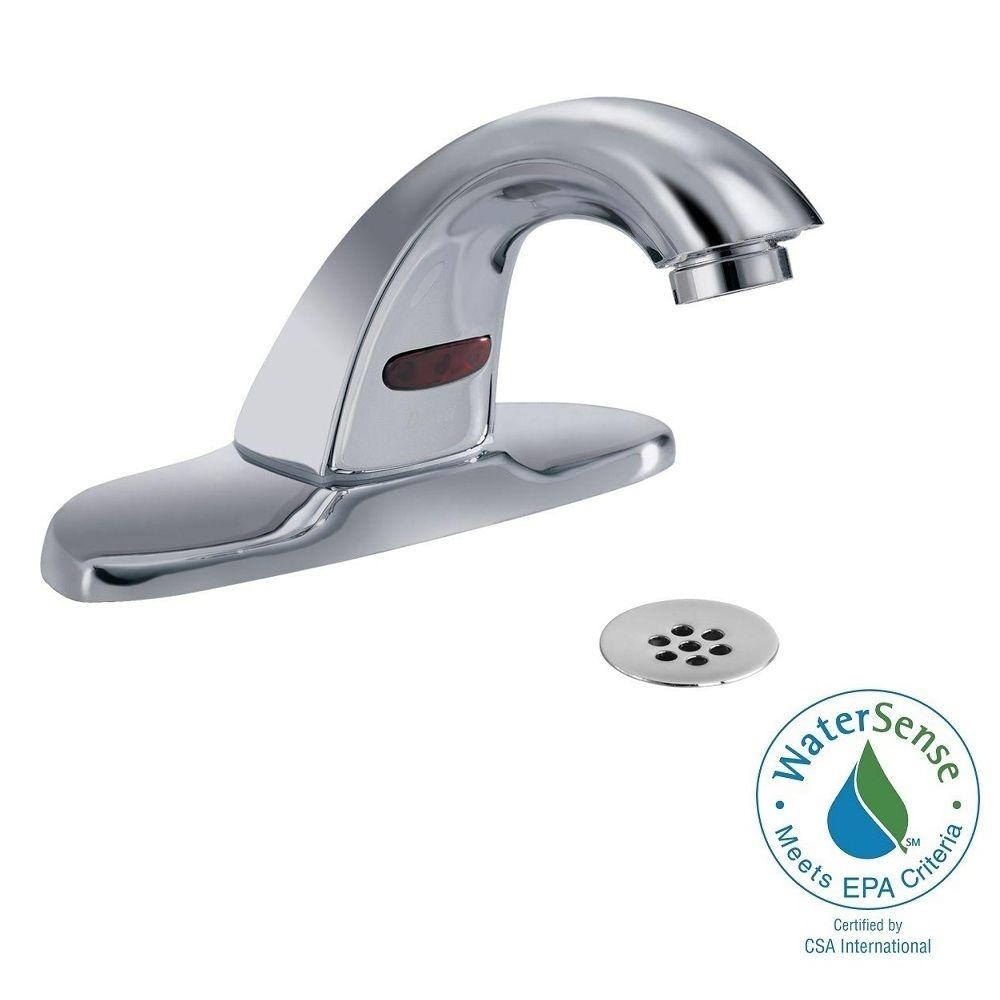Ideas, delta touchless faucet bathroom delta touchless faucet bathroom delta commercial battery powered single hole touchless bathroom 1000 x 1000 2  .