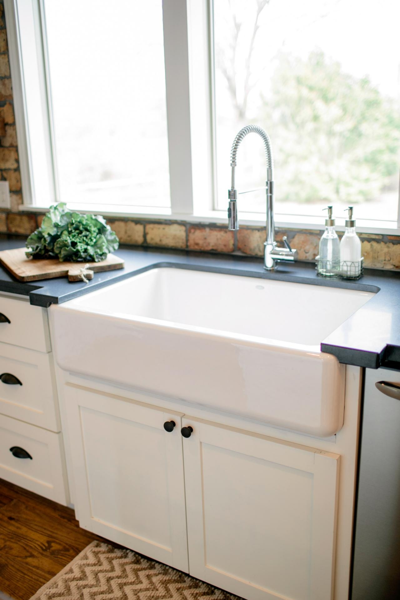 dining kitchen cool ways to install farmhouse sinks to your intended for dimensions 1280 x 1920 jpeg