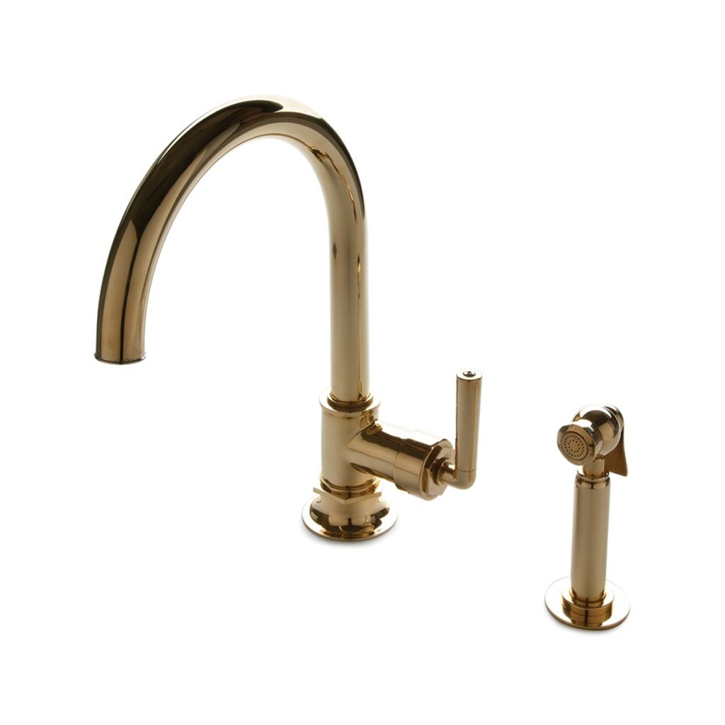 discover henry one hole gooseneck kitchen faucet metal lever in sizing 1024 x 1024