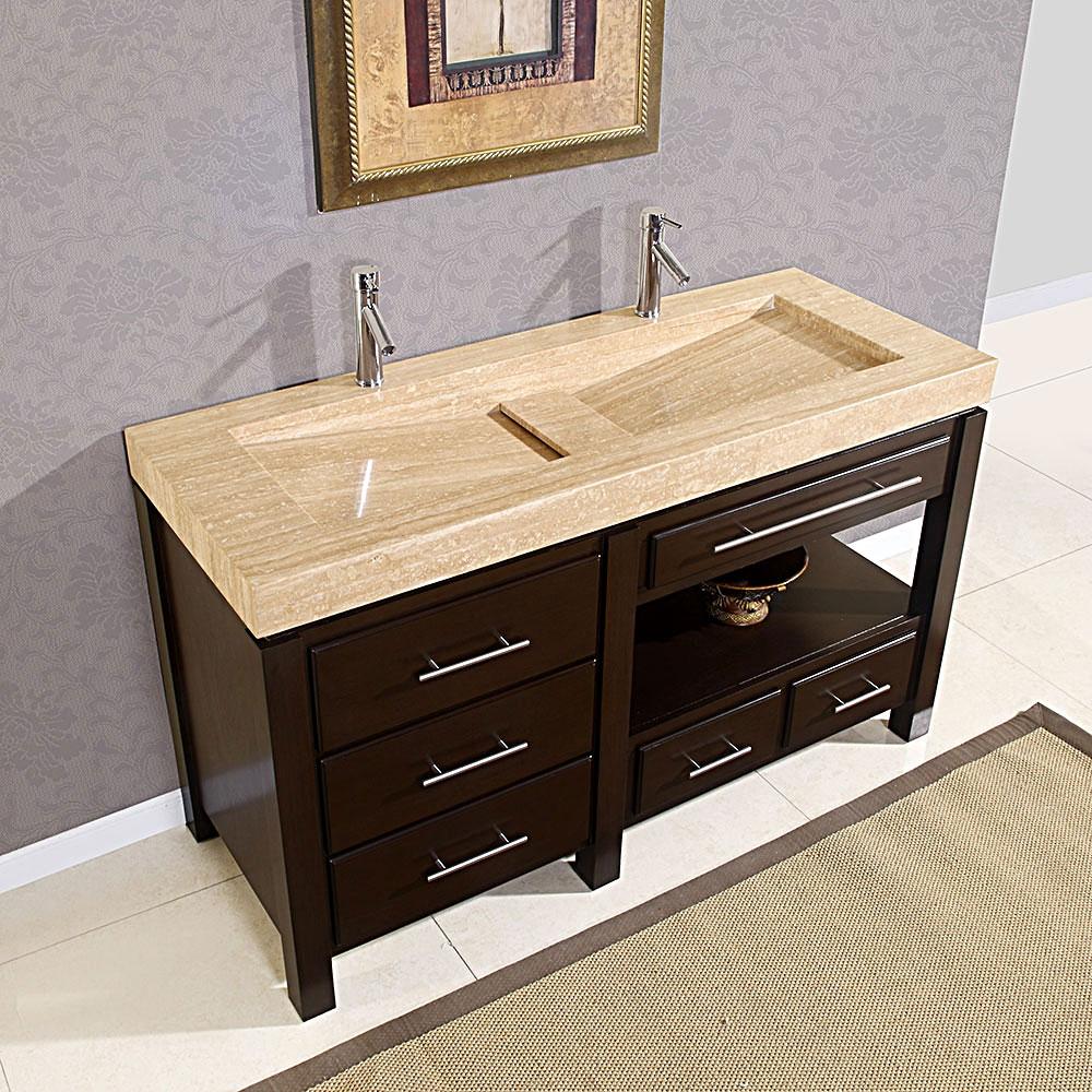 Ideas, double faucet trough sink vanity double faucet trough sink vanity bathroom charming double trough sink for best bathroom sink 1000 x 1000  .