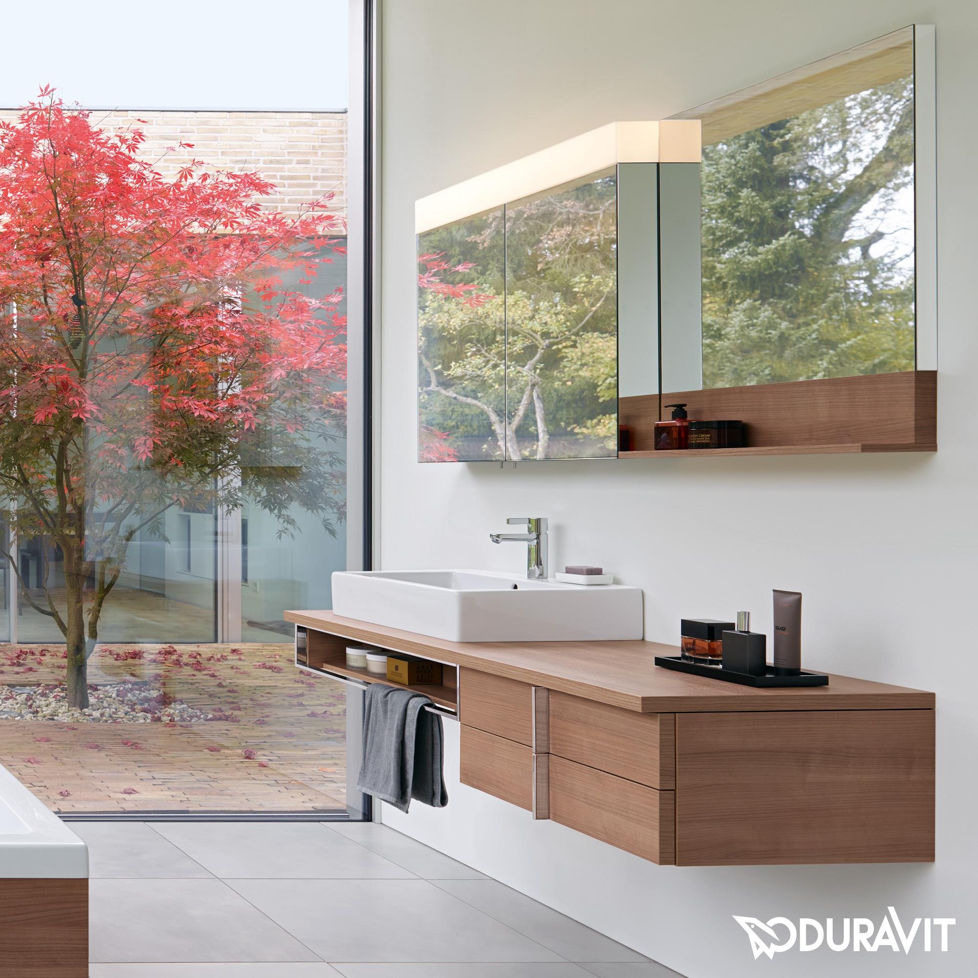 Ideas, duravit vero double faucet sink duravit vero double faucet sink duravit ve750400000 vero 47 14 x 31 12 inch mirror cabinet 2000 x 2000  .