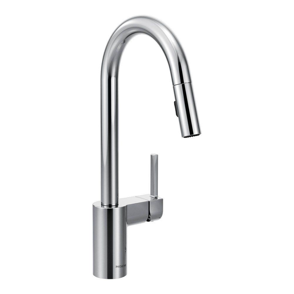 Ideas, elkay harmony single handle pull down sprayer kitchen faucet in regarding sizing 1000 x 1000  .