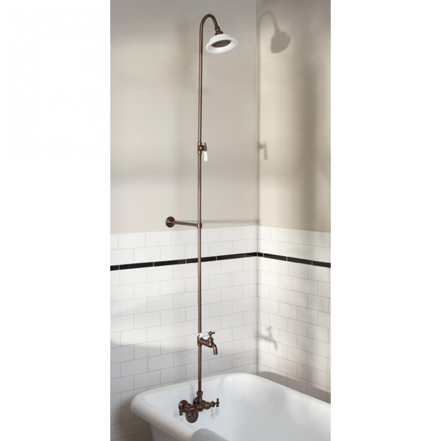 Ideas, exposed pipe showers signature hardware throughout dimensions 1500 x 1500  .