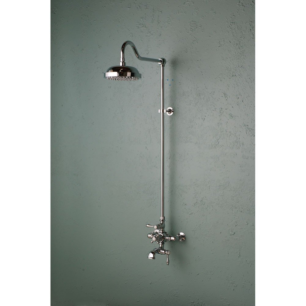 Ideas, exposed shower faucets exposed shower fixture vintage tub bath for sizing 1000 x 1000  .