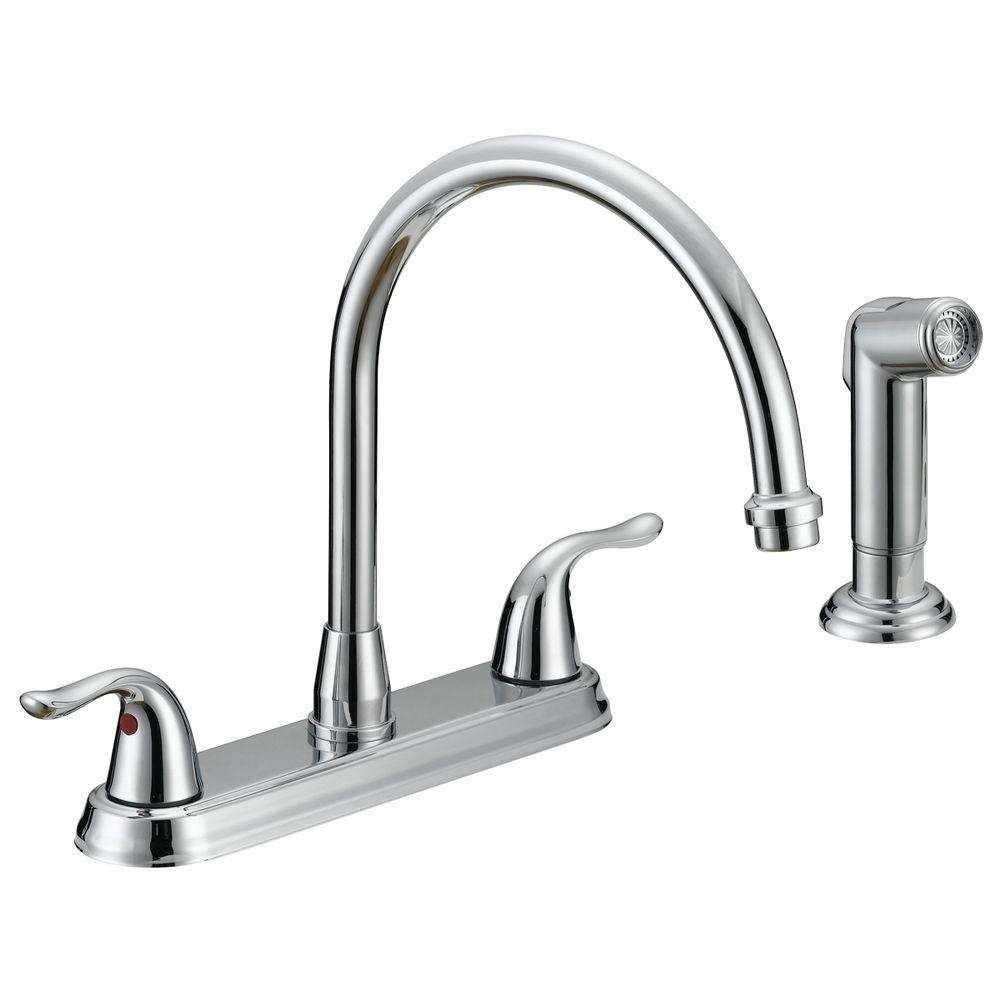 Ideas, ez flo impression collection 2 handle standard kitchen faucet with within size 1000 x 1000  .