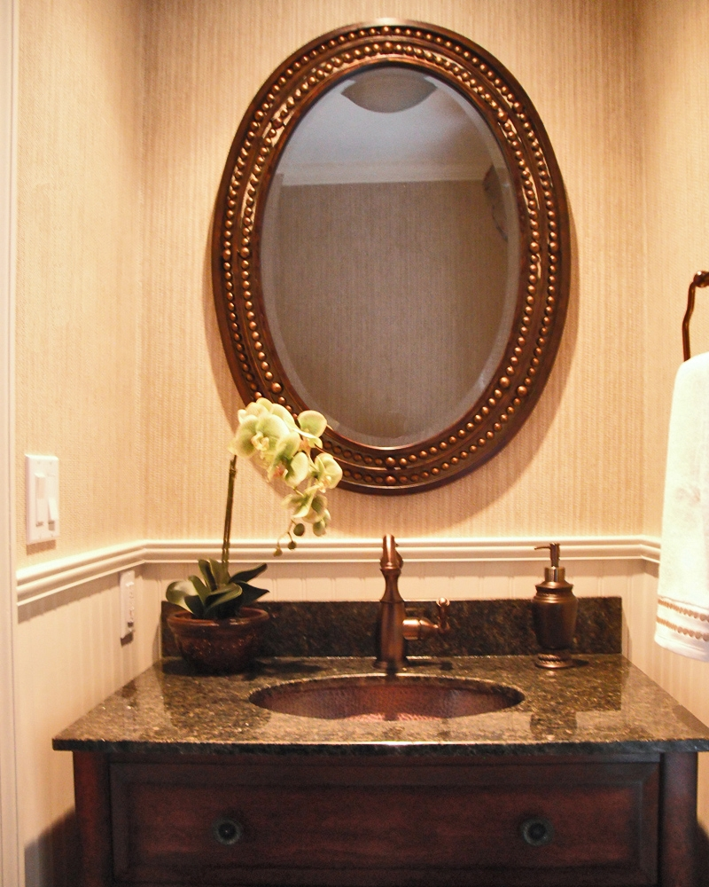 Ideas, fancy bathroom mirrors vanity powder room 48 for your with intended for proportions 800 x 1000  .