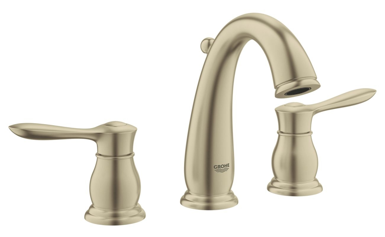 Ideas, faucet 124084 in warm brushed nickel grohe in size 1301 x 800  .