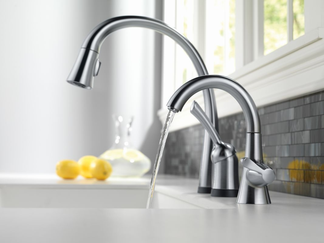 faucet 1977 ar dst in arctic stainless delta inside measurements 1067 x 800