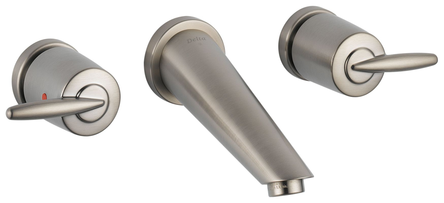 faucet 3585lf sswl in brilliance stainless delta within proportions 1749 x 800