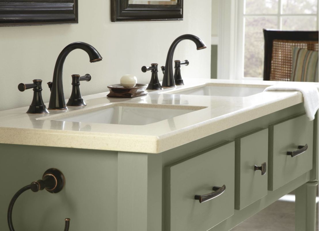 Ideas, faucet 84778mbrb in mediterranean bronze microban moen intended for size 1108 x 800  .