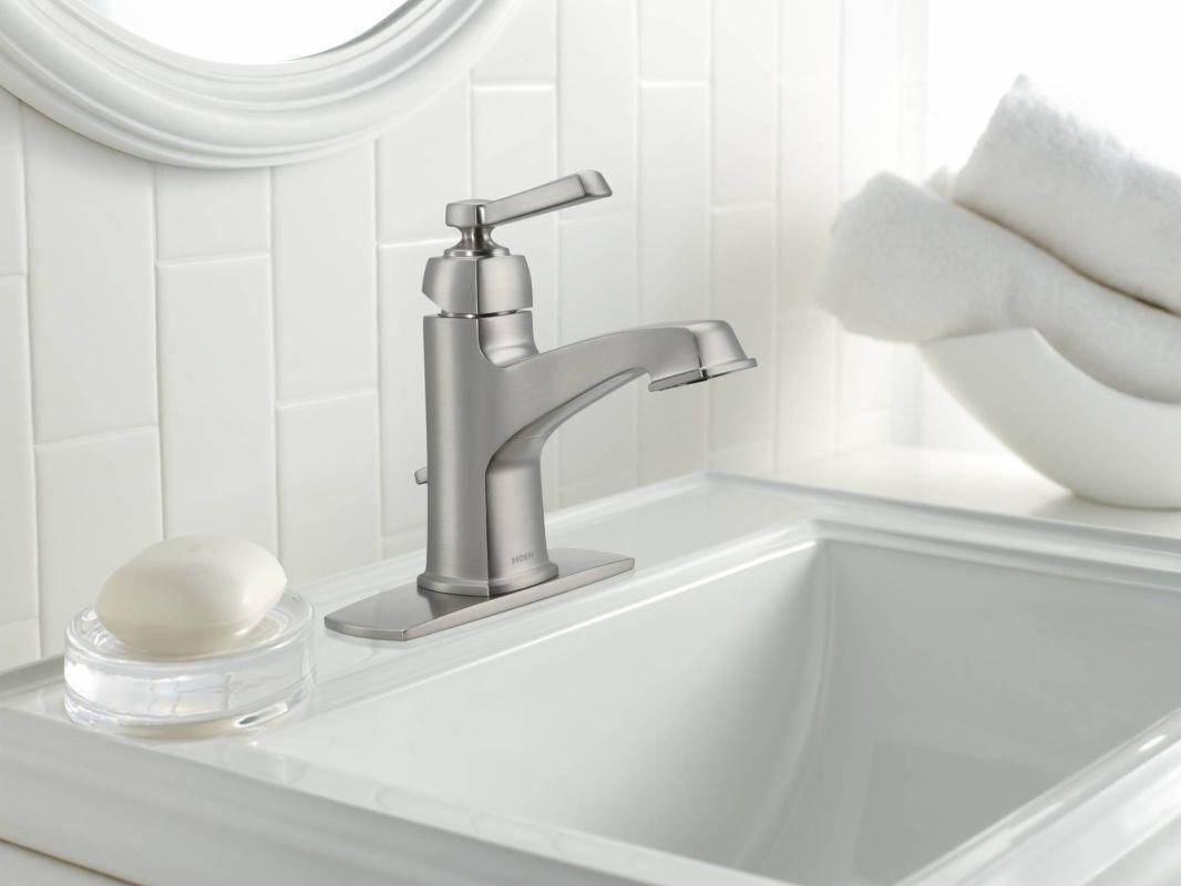 faucet 84805srn in spot resist brushed nickel moen in sizing 1066 x 800