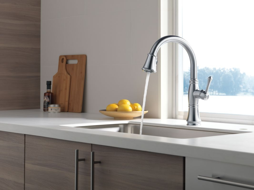 Ideas, faucet 9197 dst in chrome delta regarding sizing 1067 x 800  .