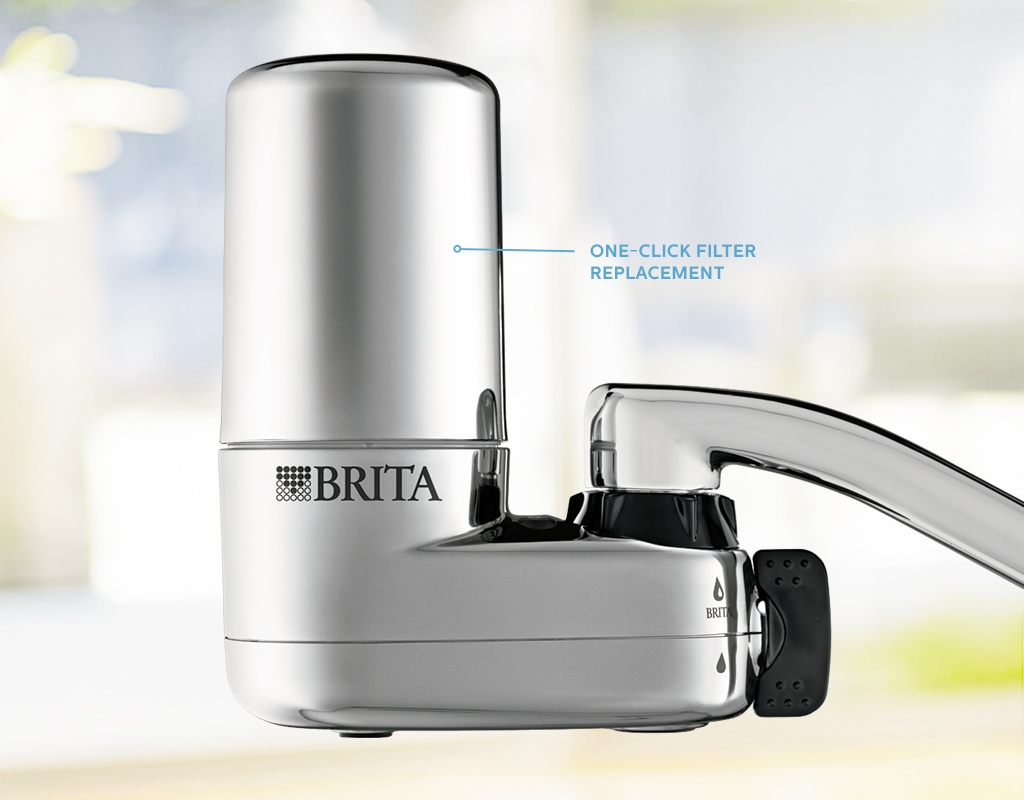 faucet filter mounts to kitchen water faucet brita in size 1024 x 800