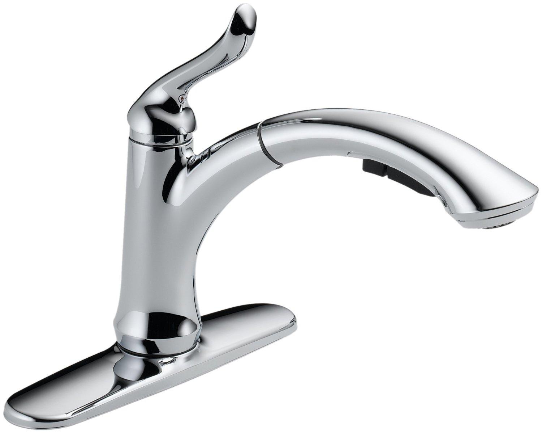 Ideas, faucet image of delta grail kitchen faucet delta grail kitchen with measurements 1500 x 1196  .